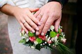 Weddings rings — Stock Photo