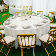 BANQUET TABLE — Stock Photo #1241886