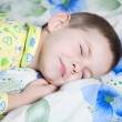 Baby sleeping — Stock Photo