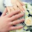 Weddings rings — Stock Photo
