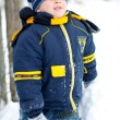 Boy in the snow — Stock Photo #1710767