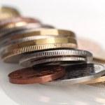 Flip a coin — Stock Photo