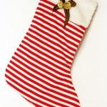 New-year sock — Stock Photo
