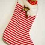 New-year sock — Stock Photo #1266337
