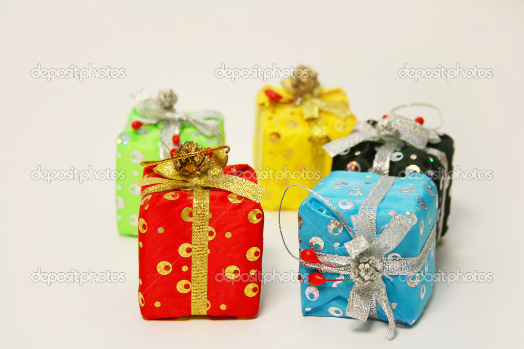 New-year gift — Stock Photo #1266287