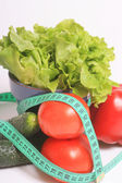 VEGETABLES, HEALTHY DIET — Stock Photo