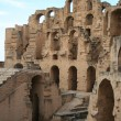 Tunis - The Colosseum — Stock Photo