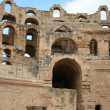 Tunis - The Colosseum - Stock Photo