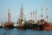 Pirate ships — Stock Photo