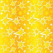 Golden stars — Stock Vector