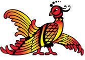 The firebird. — Stock Vector