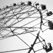 Big wheel or ferris wheel — Stock Photo