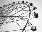 Big wheel or ferris wheel — Stock Photo