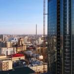 Yekaterinburg. Aerial view. — Stock Photo #1285321