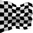 Royalty-Free Stock Photo: Checkered Flag