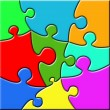 Stock Photo: Psychedelic Puzzle