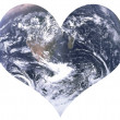 Love for earth — Stock Photo