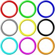 Colorful Rings — Stock Photo