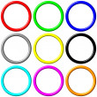 Stock Photo: Colorful Rings