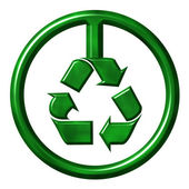 Recycling Symbol — Stock Photo