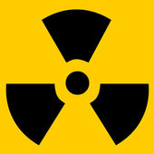 Radioactive sign — Stock Photo