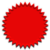 Red Seal — Stock Photo