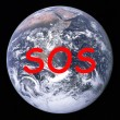Planet Earth SOS — Stock Photo