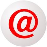 Email Symbol Sphere — Stock Photo