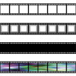Royalty-Free Stock Photo: Film Strips