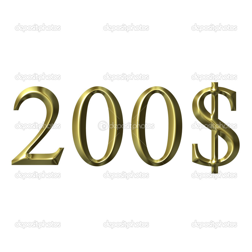 Year of 2008, money concept  Stock Photo #1400664