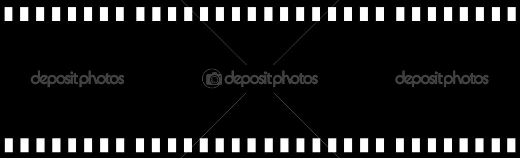 Film strip isolated in white — Stock Photo #1409489