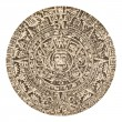 Aztec Calendar Sun Stone — Stock Photo