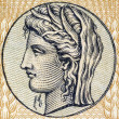 Demeter, Greek Goddess - Foto Stock