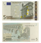 5 Euro Banknote — Stock Photo