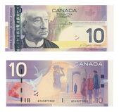10 Canadian Dollars — Stock Photo