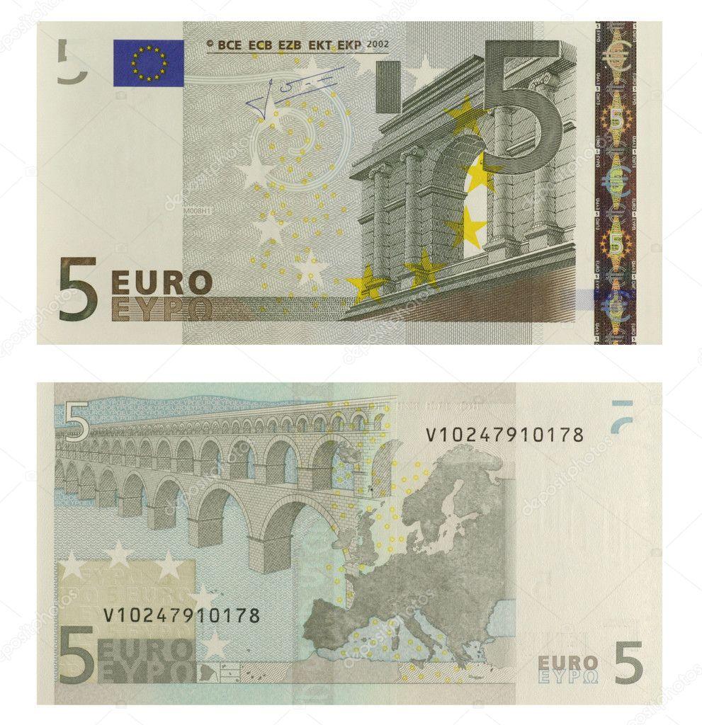 5 euro banknote stock photo georgios 1419053. Black Bedroom Furniture Sets. Home Design Ideas