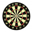 Dart Board - Stock Photo