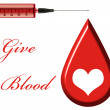 Give Blood — Stock Photo