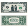 One Dollar Bill — Stock Photo #1424292