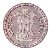 Emblem of India — Stock Photo