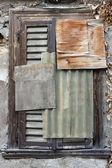 Grunge Window — Stock Photo