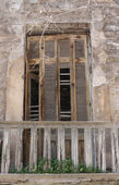 Spooky Window — Stock Photo