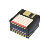 Stack of floppy disks — Stock Photo