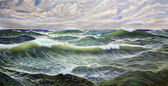 Wild Sea — Stock Photo