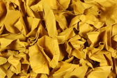 Wrinkled paper pieces — Stock Photo