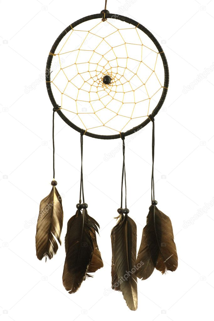 Dreamcatcher isolated in white  Stock Photo #1423983