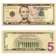 5 Dollar Bill — Stock Photo #1490413