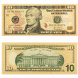 10 Dollar Bill — Stock Photo #1490414