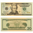 Stock Photo: 20 Dollar Bill