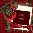 Foto Stock: Vintage christmas card